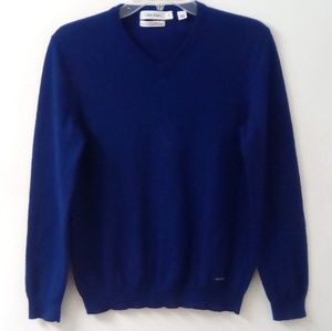 Calvin Klein Medium Royal Blue long sleeve sweater